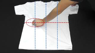 【裏技】Tシャツを一瞬でたたむ方法